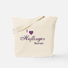Haflinger horses Tote Bag