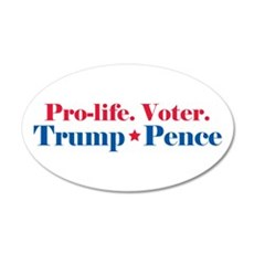 Trump Pence 2016 Stars Wall Decal