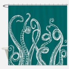 Octopus Tentacle Shower Curtain