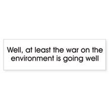 War on Environment Sticker(Bumper)