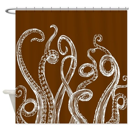 Octopus tentacle shower curtain by admin cp2452714 for Tentacle shower curtain