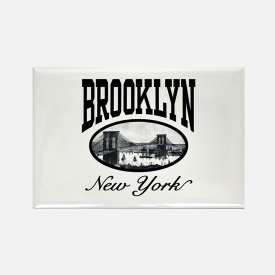 Brooklyn New York Rectangle Magnet