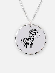 Unique Animal zebra Necklace