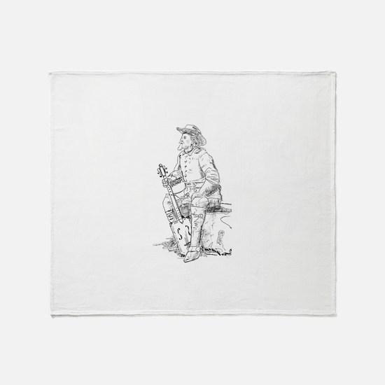 Buffalo Bill CBG Throw Blanket