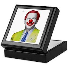Clown George W Bush Keepsake Box