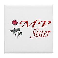 mp sister Tile Coaster