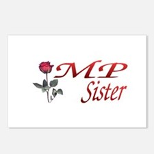 mp sister Postcards (Package of 8)
