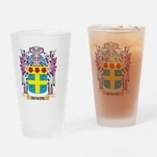 Deacon Coat of Arms (Family Crest) Drinking Glass