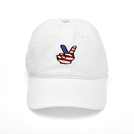 Peace Fingers Cap