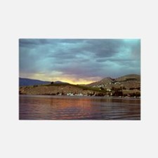 Lake Chelan Rectangle Magnet