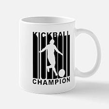 Retro Kickball Champion Mugs
