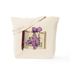 Dusty Dragon Tote Bag