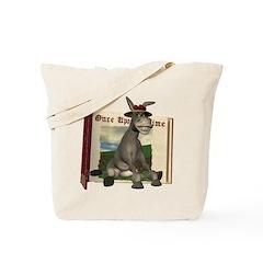 Daisy Donkey Tote Bag