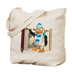 Percy Penguin Tote Bag