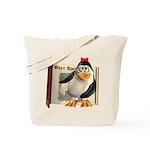 Penny Penguin Tote Bag
