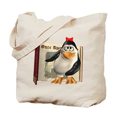 Penny Penguin Tote Bag