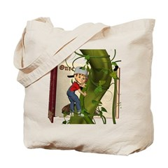 Jack 'N the Beanstalk Tote Bag