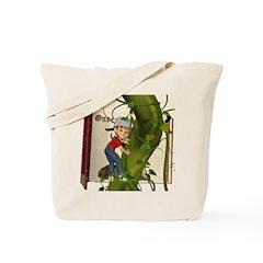 Jack 'N the Beanstalk Tote Bag