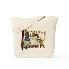 The Three Bears Tote Bag