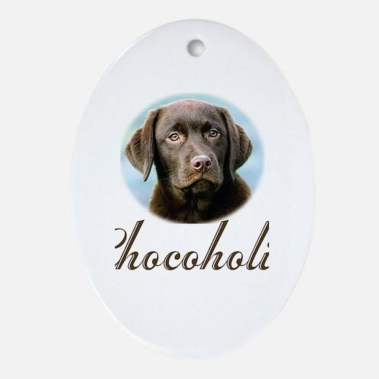 Chocoholic Oval Ornament