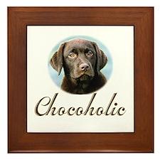 Chocoholic Framed Tile