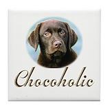Chocolate lab Drink Coasters