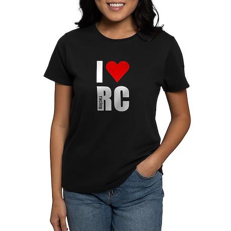 I love RC racing Women's Dark T-Shirt