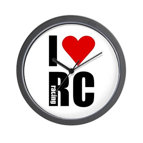 I love RC racing Wall Clock