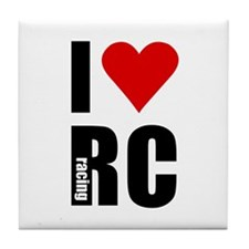 I love RC racing Tile Coaster