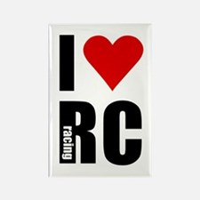 I love RC racing Rectangle Magnet