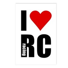 I love RC racing Postcards (Package of 8)