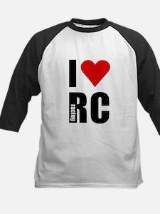I love RC racing Kids Baseball Jersey