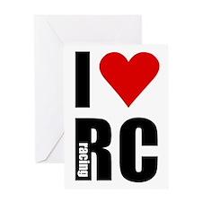 I love RC racing Greeting Card