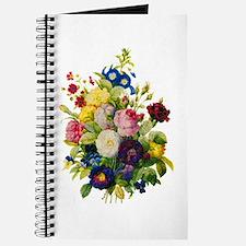 Redoute Summer Rose Bouquet Journal