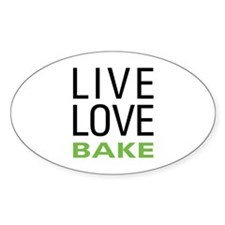 Live Love Bake Bumper Stickers