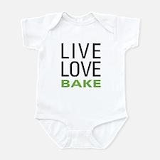 Live Love Bake Infant Bodysuit