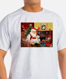 Santa's Sealyham Terrier T-Shirt