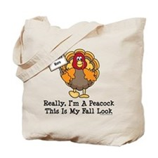 No Turkey Here Thanksgiving Tote Bag