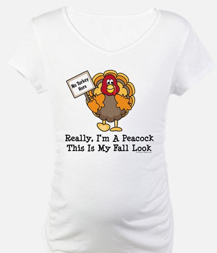 No Turkey Here Thanksgiving Shirt