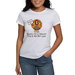 No Turkey Here Thanksgiving Women's T-Shirt