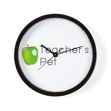 Teacher's Pet Wall Clock