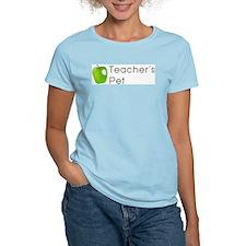Teacher's Pet Women's Pink T-Shirt