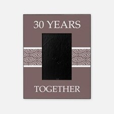 30th Wedding Anniversary Picture Frame