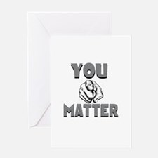 Funny All matter Greeting Card