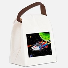 V-7 SPACE SHIP Canvas Lunch Bag