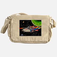 V-7 SPACE SHIP Messenger Bag