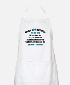 55 'Years' Old BBQ Apron