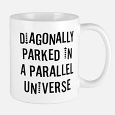 Diagonally Parked Mug