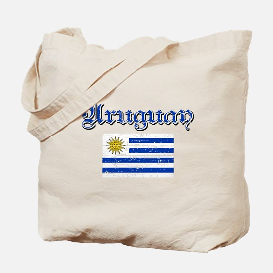 Uruguayan Flag Tote Bag
