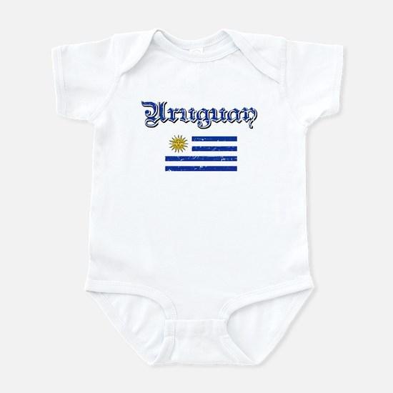 Uruguayan Flag Infant Bodysuit